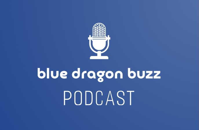 Blue Dragon Buzz Podcast Art