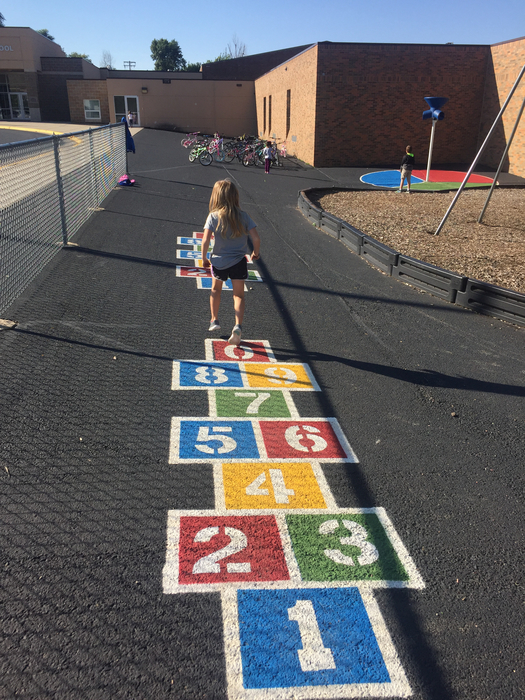 Thanks to the Garretson PTO for the added color to our playground!