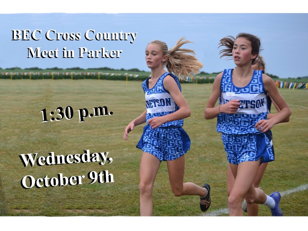 BEC Cross Country Meet