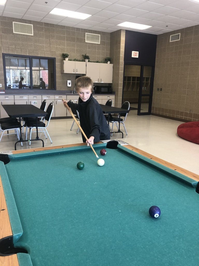 Sebastian, the pool shark.