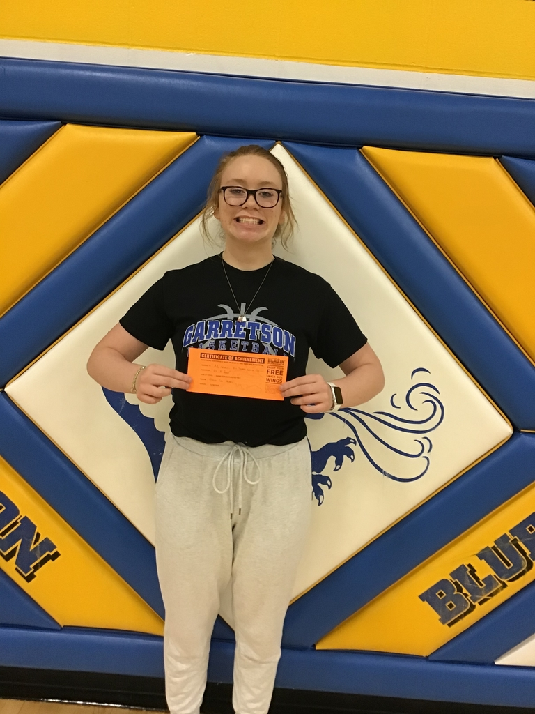 Congratulations Molly for being our first quarter SUPERFAN! Keep cheering loud and proud!