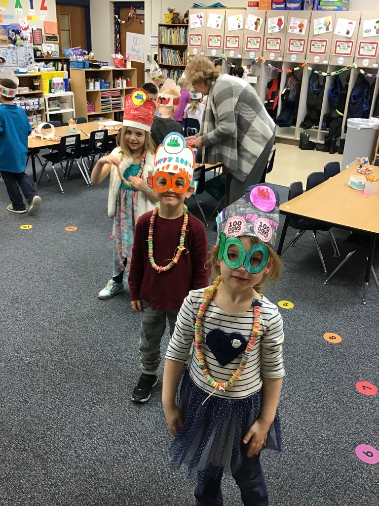 A 100 Days Smarter Kindergarten party!